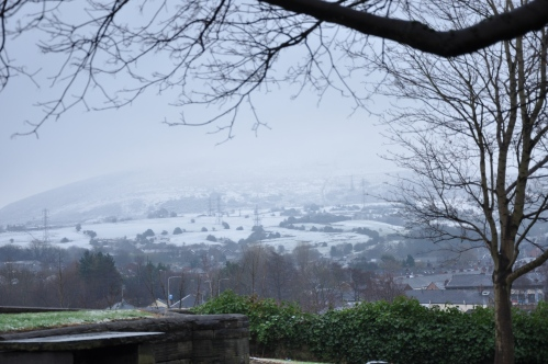 Snowy Hills from Cocker Hill. 2015