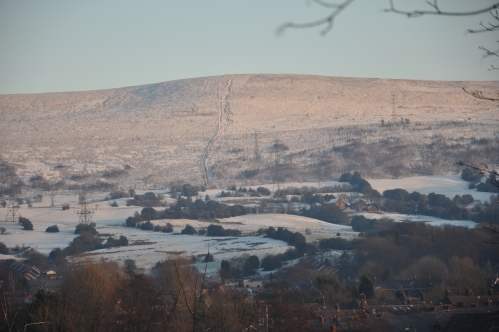 Snowy Hills from Cocker Hill